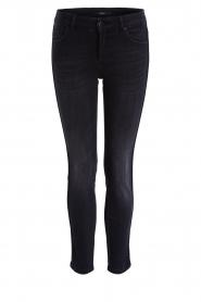 Set | Skinny jeans Wally | zwart   | Afbeelding 1