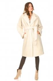 Ibana |  Wrap coat Cara | natural  | Picture 3