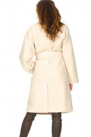 Ibana |  Wrap coat Cara | natural  | Picture 6