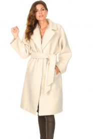Ibana |  Wrap coat Cara | natural  | Picture 4