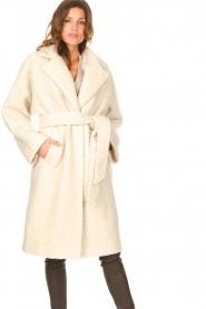 Ibana |  Wrap coat Cara | natural  | Picture 2