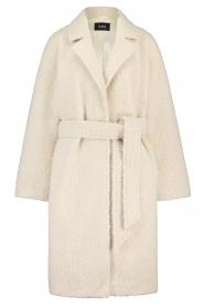 Ibana |  Wrap coat Cara | natural  | Picture 1