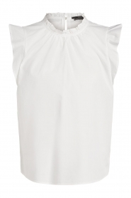 Set |  Top with ruffles Julia | white  | Picture 1
