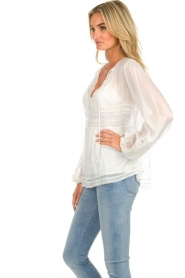 Atos Lombardini | Blouse Kate | white  | Picture 5
