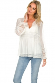 Atos Lombardini | Blouse Kate | white  | Picture 2