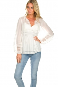 Atos Lombardini | Blouse Kate | white  | Picture 4