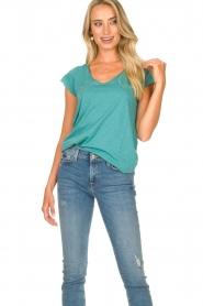 Set | Basic T-shirt Seaside | blauw  | Afbeelding 2