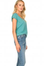 Set | Basic T-shirt Seaside | blauw  | Afbeelding 4