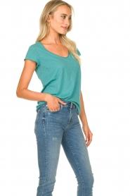 Set | Basic T-shirt Seaside | blauw  | Afbeelding 5