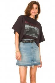 Set |  Cropped T-shirt Tanja | black  | Picture 4