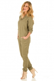 ba&sh | Jumpsuit Madison | legergroen  | Afbeelding 2