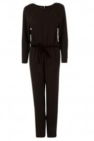 Er gaat niets boven een stijlvolle zwarte jumpsuit zoals deze van sessun. de jumpsuit is gemaakt van luxe ...