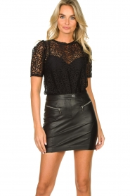 Set |  Lace top Whitney | black  | Picture 2