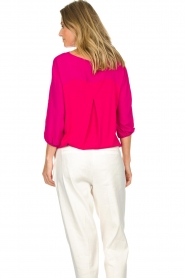 Atos Lombardini |   Top with cropped sleeves | pink  | Picture 6