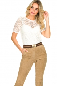 Set |  Lace top Whitney | white  | Picture 2