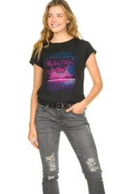 Set |  T-shirt with print Electric | black  | Picture 4