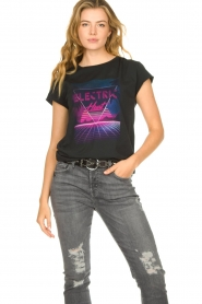 Set |  T-shirt with print Electric | black  | Picture 2