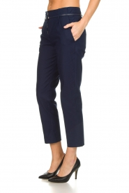 Atos Lombardini |  Classic trousers Belle | blue  | Picture 4