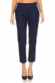 Atos Lombardini |  Classic trousers Belle | blue  | Picture 2