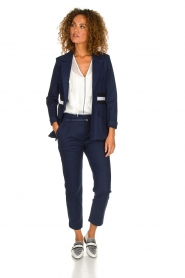 Atos Lombardini |  Classic trousers Belle | blue  | Picture 3