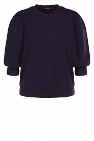 Set |  Sweater with puff sleeves Jill | blue  | Picture 1