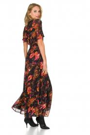 Hipanema | Bloemenprint maxi-jurk Ravy | zwart  | Afbeelding 5