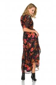 Hipanema | Bloemenprint maxi-jurk Ravy | zwart  | Afbeelding 6