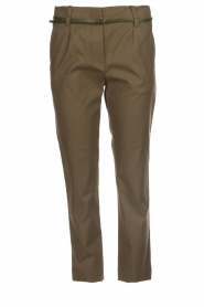 Atos Lombardini |  Classic trousers Belle | green  | Picture 1