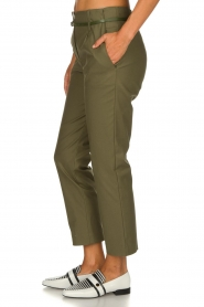 Atos Lombardini |  Classic trousers Belle | green  | Picture 4
