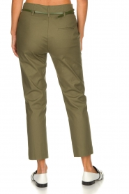 Atos Lombardini |  Classic trousers Belle | green  | Picture 5