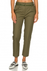 Atos Lombardini |  Classic trousers Belle | green  | Picture 2