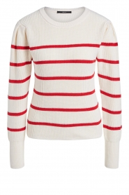 Set |  Cotton sweater Away | white/red  | Picture 1