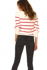 Set |  Cotton sweater Away | white/red  | Picture 6