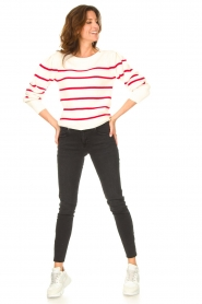 Set |  Cotton sweater Away | white/red  | Picture 3