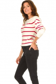 Set |  Cotton sweater Away | white/red  | Picture 5