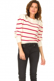 Set |  Cotton sweater Away | white/red  | Picture 4