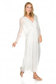 Hipanema |  Maxi-dress Reach | white  | Picture 4