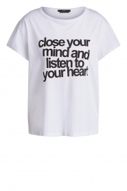 Set |  T-shirt with text print Mind | white  | Picture 1