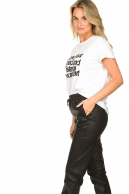 Set |  T-shirt with text print Mind | white  | Picture 5