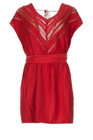 Hipanema |  Dress Roberta | red  | Picture 1