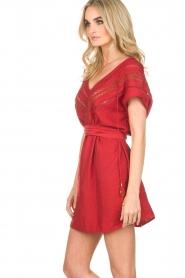 Hipanema |  Dress Roberta | red  | Picture 4