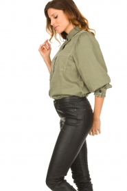 Set |  Blouse with balloon sleeves Milly | green  | Picture 5