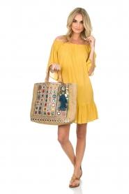 Hipanema | Off-shoulder jurk Rayane | geel  | Afbeelding 2