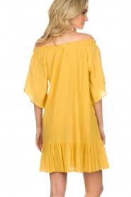 Hipanema | Off-shoulder jurk Rayane | geel  | Afbeelding 4