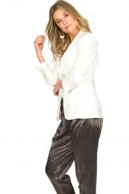 Atos Lombardini |  Classic blazer Taira | white  | Picture 6