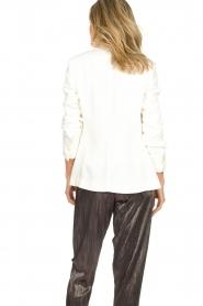 Atos Lombardini |  Classic blazer Taira | white  | Picture 7