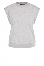 Set |  Cotton sleeveless sweater Bey | grey  | Picture 1