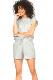 Set |  Cotton sleeveless sweater Bey | grey  | Picture 2