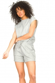 Set |  Cotton sleeveless sweater Bey | grey  | Picture 4
