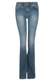 Lois Jeans | Flared jeans Melrose lengtemaat 32 | blauw  | Afbeelding 1